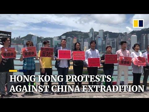 Hong Kong protests anti-extradition law amendments