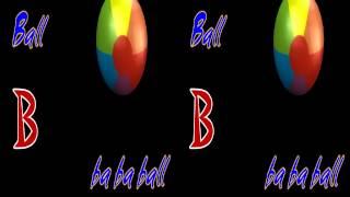 abc Nursery Rhyme B is Ball Ba Ba Ball by Aisha