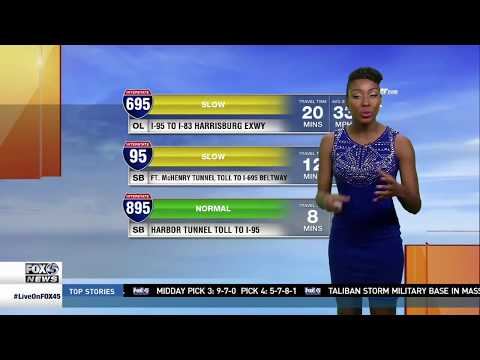 Chardelle Moore FOX45 Baltimore Traffic Reporter