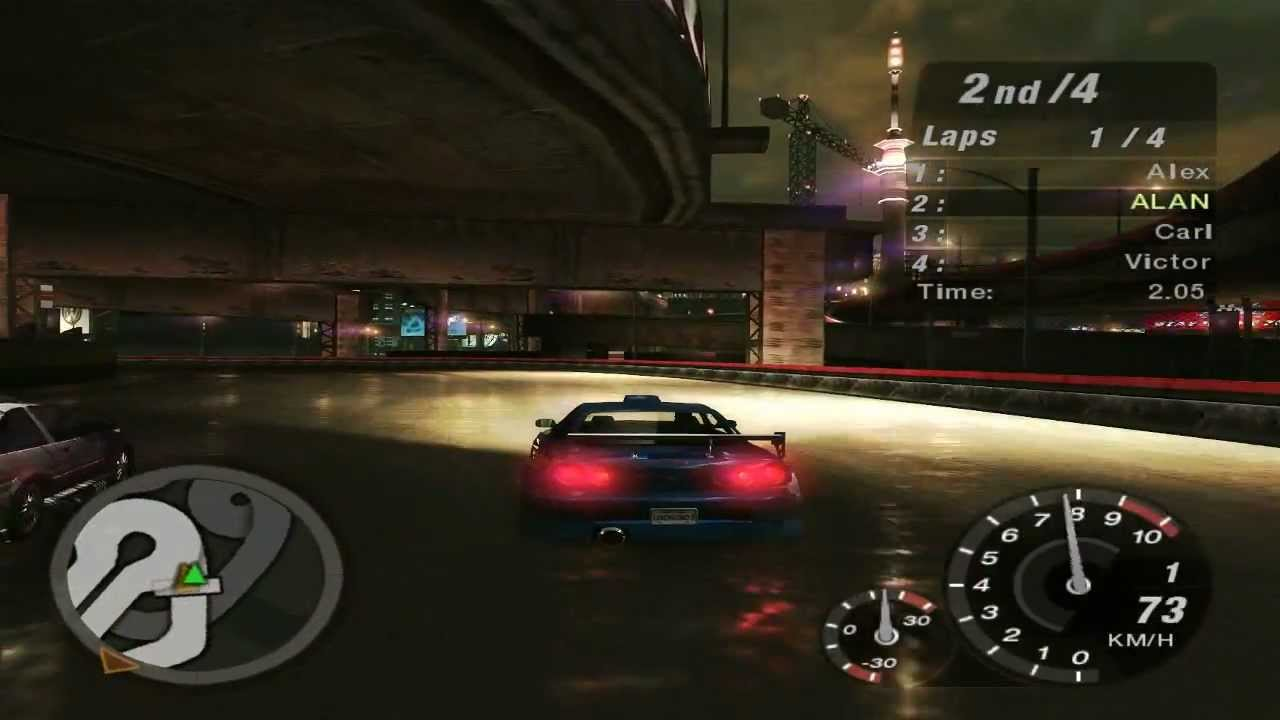 need for speed underground 2 world map race 213. Black Bedroom Furniture Sets. Home Design Ideas