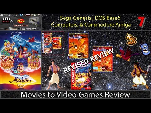 Movies to Video Games Review - Disney's Aladdin (GEN) [REVISED REVIEW]