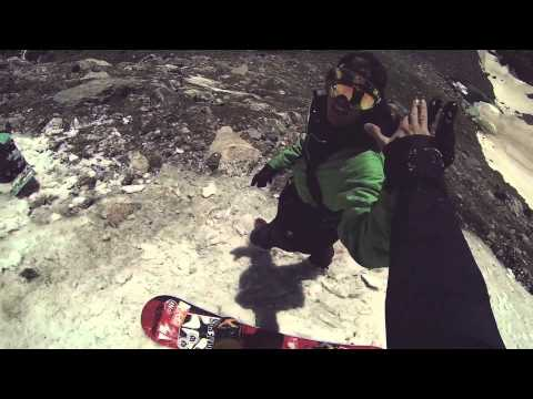 Snowboarding in Colorado in June with Bjorn Leines - Rome 12 Months Project