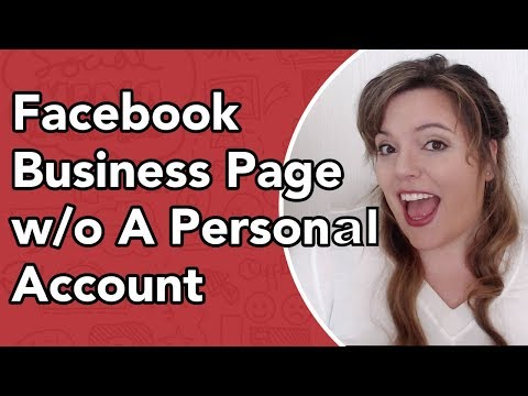 How To Create Facebook Page Without A Personal Account
