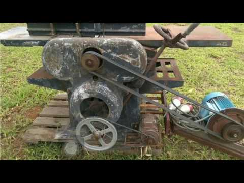 Old German jointer/thicknesser restoration part 1