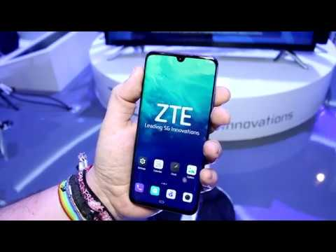 ZTE Axon 10 Pro 5G - hands on with the SLEAKEST 5G phone yet - YouTube