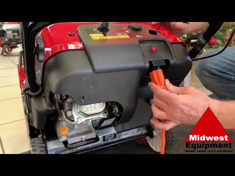 How To Video!! Start Your Toro Snow Blower