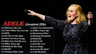 ADELE Greatest Hits Playlist - The Best Of ADELE Songs 2017