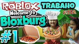 Welcome To Bloxburg | Roblox Tagalog Gameplay - Nag Trabaho Sa Pizza (Sinisingil Ako Ng Meralco)