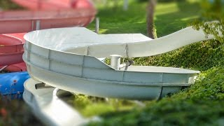 Water World Lloret - Water Petit | White Waterslide Onride POV