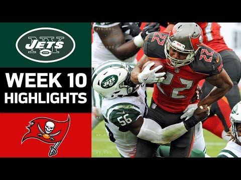 Jets vs Buccaneers  NFL Week 10 Game Highlights