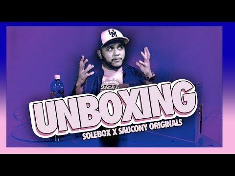 SOLEBOX X Saucony Originals I UNBOXING