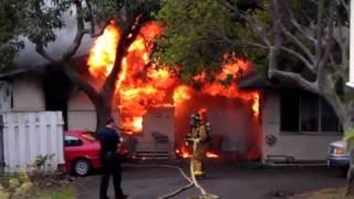 Fire in Honolulu - SHOCKING!