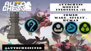 Autochess Mobile Indonesia #23  -  Combo Meta Mage build di Tier Rook auto 1-4