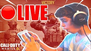 🔴LIVE Call of Duty MOBILE DESTROYING IN MULTIPLAYER LOBBIES!! // Level 149+ Player