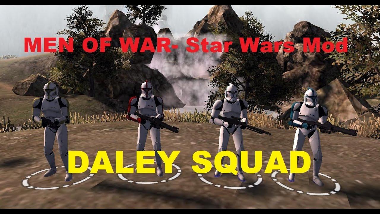 Men Of War Assault Squad 2 - Star Wars Mod ~ Daley Squad ...