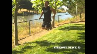 kick your butt-body weight exercise for Strength Stack 52