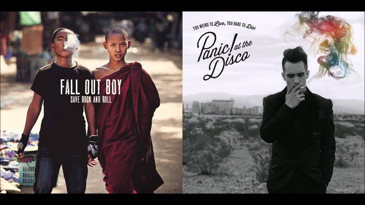 Fall Out Boy Desktop Wallpaper Hd Young Gospel Panic At The Disco Vs Fall Out Boy