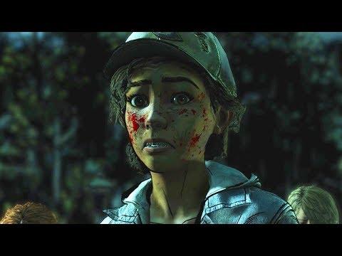 THE WALKING DEAD: Season 4 Episode 1 Ending 'Done Running' (Telltale Final Season)  60FPS