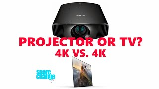 Projector vs TV? What Does A Projector Offer Over A TV For Home Theater?
