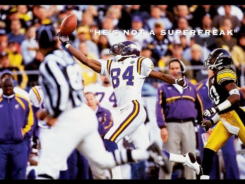"""The Randy Moss Myth-Busting Career Defining Video Pt 8A. """"He's Not A Superfreak"""""""