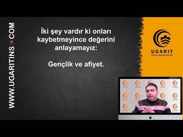 الأمثال التركية و معانيها - الحلقة 12