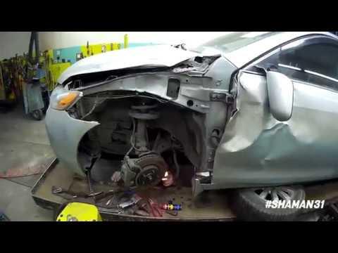Toyota Camry / Кузовной ремонт в Губкине / Shaman31