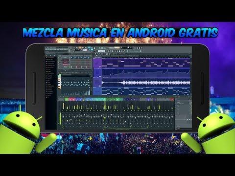 Como Crear Y Mezclar Musica Electronica Desde Android Totalmente Gratis | 2017