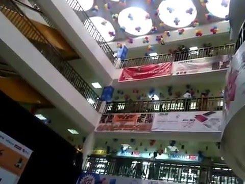 Inside the IDB Centre, the bigest Computer market of Bangladesh