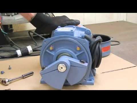 How To Adjust The Weights On Rotary Electric Motors Youtube