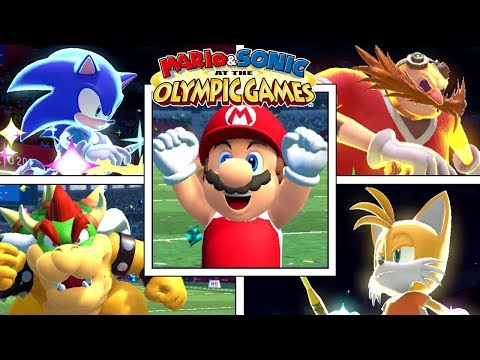 Mario & Sonic At The Olympic Games Tokyo 2020 - All Events + All Character Victory & Specials - DEMO