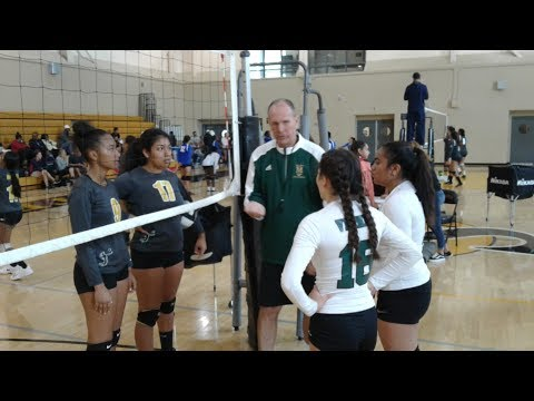 San Pedro High vs. Port Of Los Angeles High Girls Volleyball (9-16-2017)