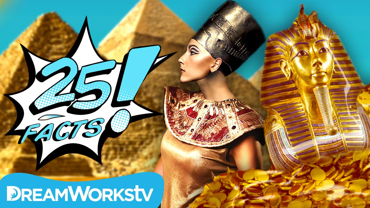 25 Facts About Ancient Egypt 25 Facts Youtube