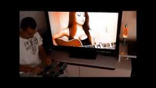 highway to hell ac dc cover jess greenberg acompanhando na boss dr 880