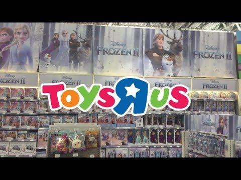 Disney Frozen 2 Merchandise At Toys R Us Canada 2019