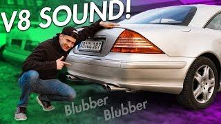 Endlich V8 Sound!   RB Engineering   Mercedes Benz C215 CL 500 Eisenmann