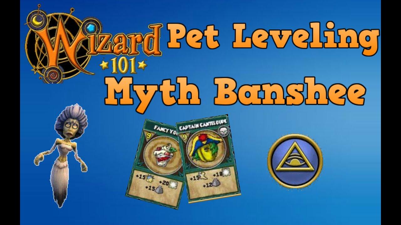 Wizard101 Pet Leveling Myth Banshee 1 Youtube