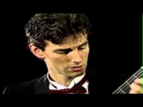 Fiery Spanish Classical guitar performance  from 1990's - Italy