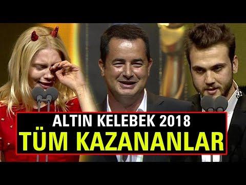 Pantene Altın Kelebek 2018 Ödülleri Sahiplerini Buldu! İşte Kazanan Tüm İsimler!