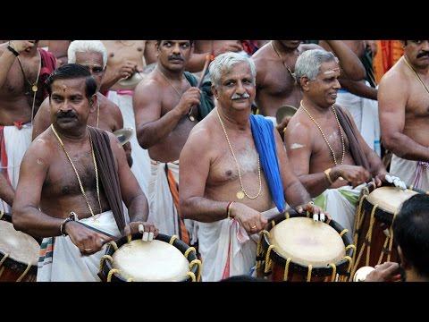 Panchari Melam - Peruvanam Kuttan Marar at Peruvanam Pooram 2017