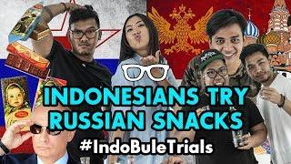 #IndoBuleTrials: Indonesians Try Russian Food (feat. Bhakti Perkasa)