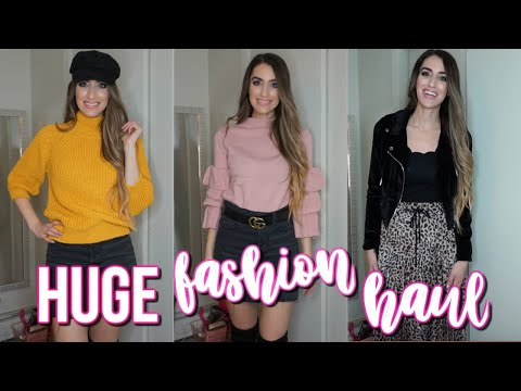 HUGE FASHION HAUL & TRY ON!! ROSEGAL, OLD NAVY, EXPRESS, H&M
