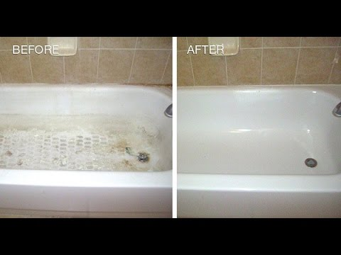 My Neighbor Told Me How To Remove HEAVY STAINS For My Bathtub And Shower By  Using Only THISu2026