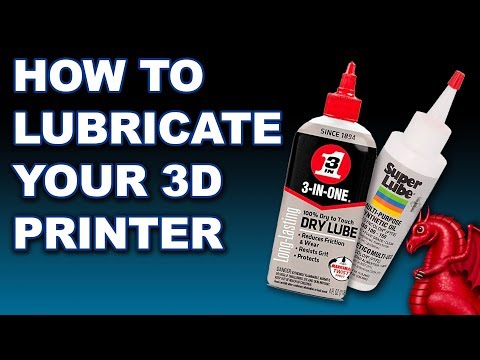 Lubricating A 3D Printer