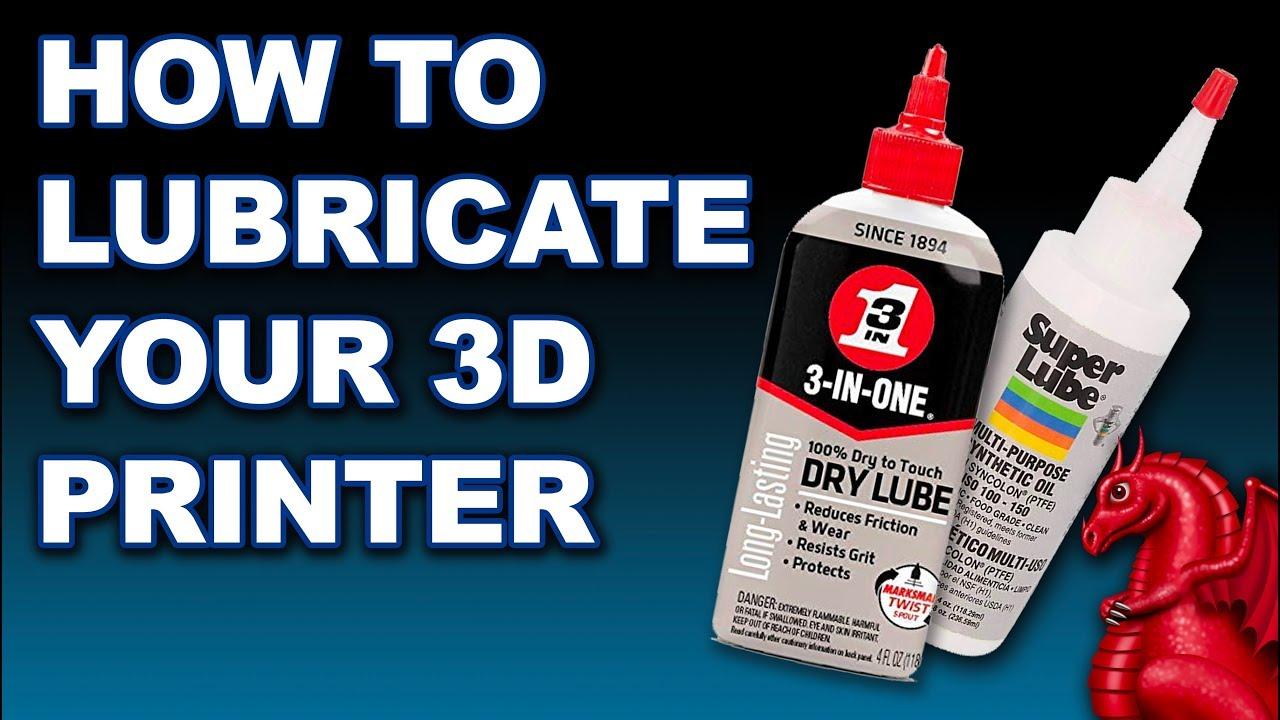 Lubricating a 3D Printer