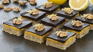 Walnut Lemon Bars Recipe