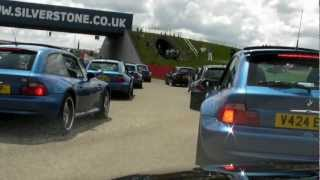 BMW M Coupe & Z3 meet at Silverstone Classic 2012