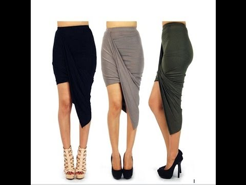 DIY: How To Sew A Trendy Maxi Skirt(SEWING)