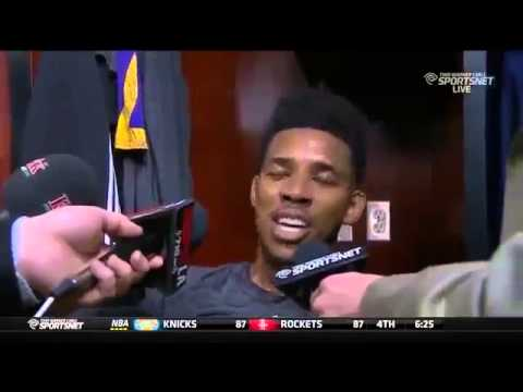 Nick Young Pretends to be Kobe Bryant!