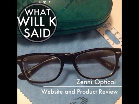 f1ceb19202 Zenni Optical Review - Glasses for under  20.00!! What ! ! - YouTube