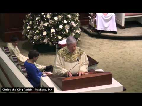 The Feast of the Holy Family Msgr  Daniel Hoye 12 26 15